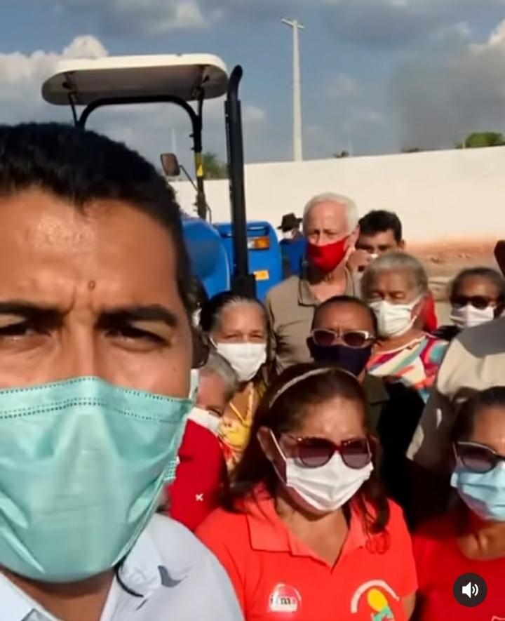 Deputado Marco Aurélio participa da entrega de patrulha agrícola em Amarante do Maranhão